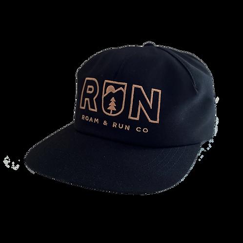 Run Lite Hat - Black