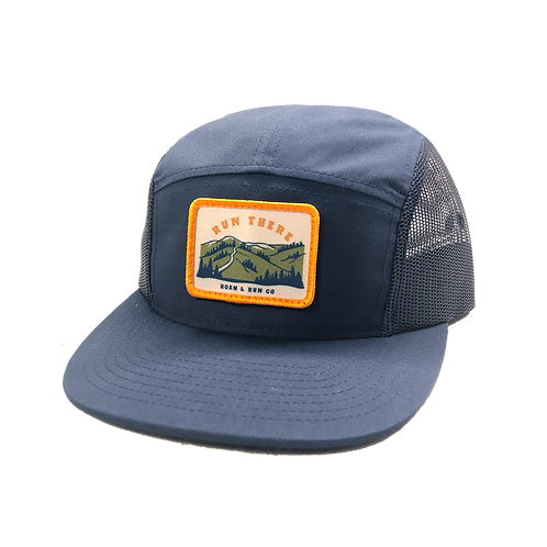 Run There Tech Hat - Navy