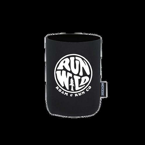 Run Wild Koozie - Black
