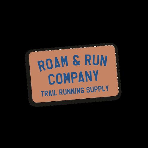 Trail Supply Sticker - Mauve