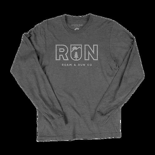 Run Long Sleeve - Gray