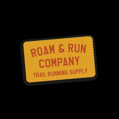 Trail Supply Sticker - Gold