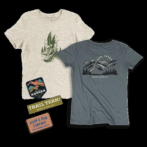 Women's Bundle #1 - 2x Shirt / Sticker Pack