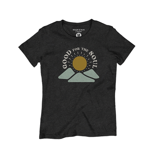 Women's Good for the Soul - Charcoal