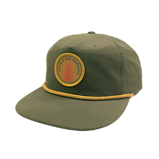 Pine Patch Hat - Olive