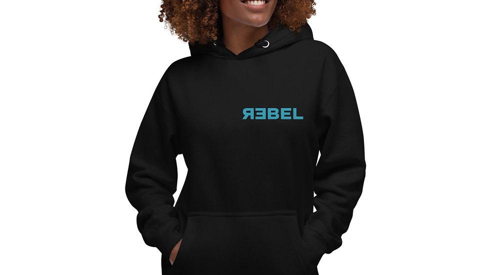 Rebel Unisex Hoodie (Sage design)