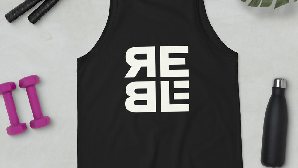 Rebel Sage design Unisex Tank Top
