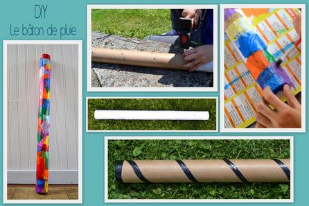 Idée bricolage : Le bâton de pluie