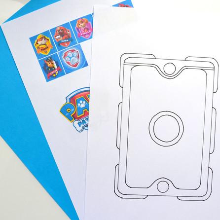 Bricolage : La tablette Pat' Patrouille !