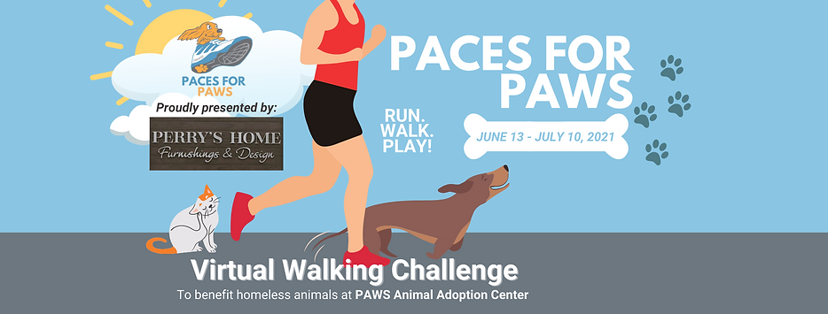 Paces for PAWS 2021 RallyUp Banner Exten