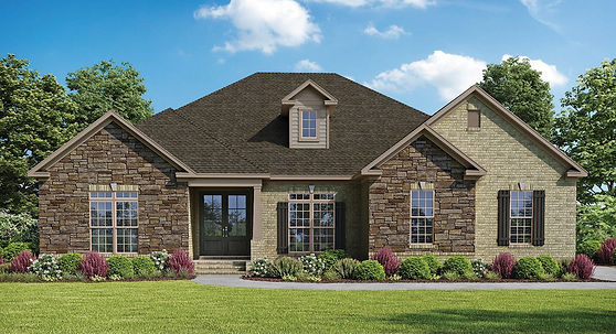 The Oakleigh, a Stoneridge Homes elevation