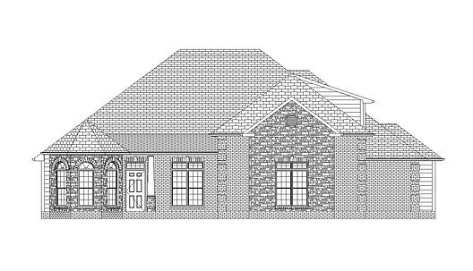 The Bethany B, a Stoneridge Homes elevation