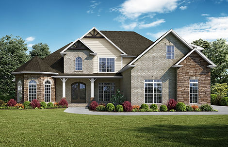 Kimberly, a Stoneridge Homes elevation