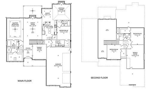 The Mary, a Stoneridge Homes floorplan