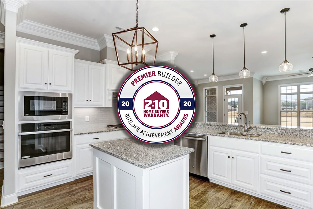 Stoneridge Homes received the Premier Builder Award for 2020.