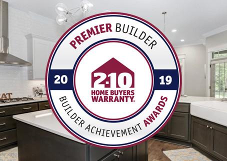 Stoneridge Homes is Recognized as a Premier Builder.