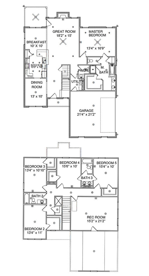 The Whitney 2, a Stoneridge Homes floorplan