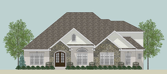 The Hollie, a Stoneridge Homes elevation