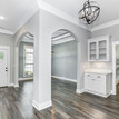 The Bethany entry way with a beautiful front door and stunning archways.