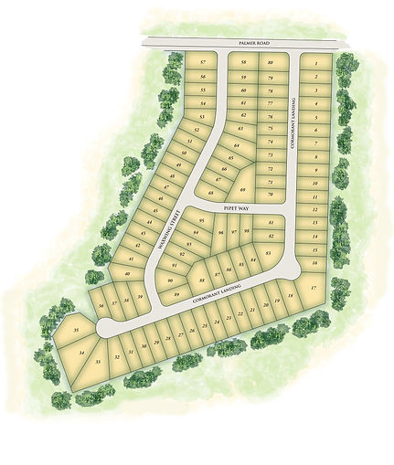 Dublin Farms Site Map a Stoneridge Community