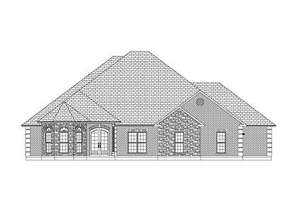 The Katie B, a Stoneridge Homes elevation