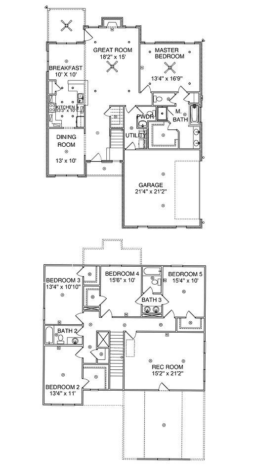 The Whitney 2, a Stoneridge Homes floorplan