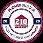 Premier Builder - Builder Achievement Award