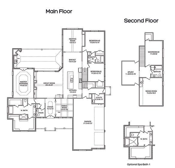 The Belle C, A Stoneridge Homes floorplan