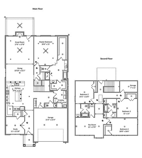 The Lori 2, a Stoneridge Homes floorplan