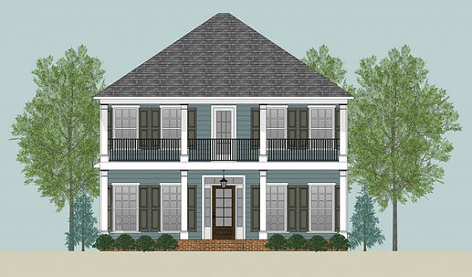 The Riley 2 Elevation, a Stoneridge Homes elevation