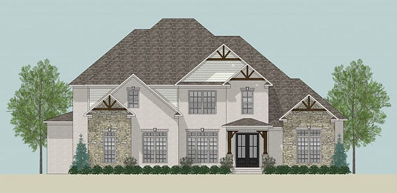 The Leah A, a Stoneridge Homes elevation