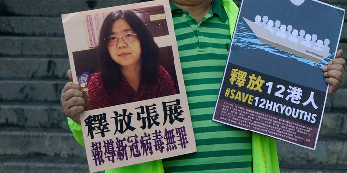 China Jails Journalist over COVID