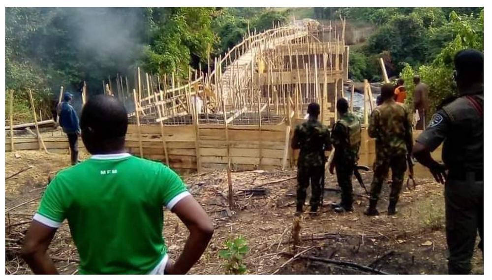 illegal bridge construction in Ogun State