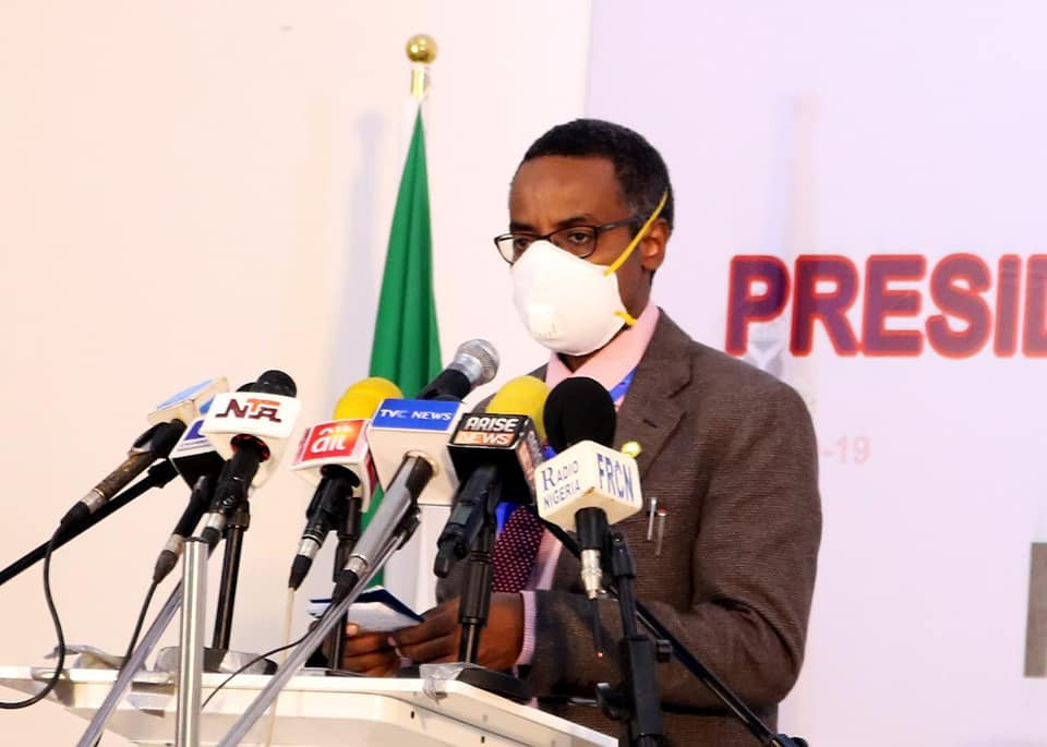 The National Coordinator of the Presidential Task Force on COVID-19, Sani Aliyu