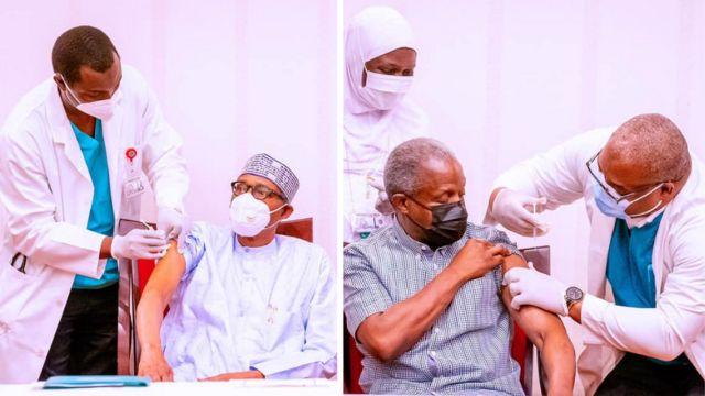 President Buhari and Vice President Osibanjo