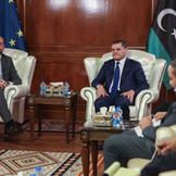 European Council President visits Libya.