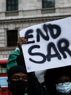Federal High Court orders the unfreezing of #ENDSars Protester accounts.