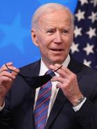 Joe Biden launches a series of airstrikes against Syria.