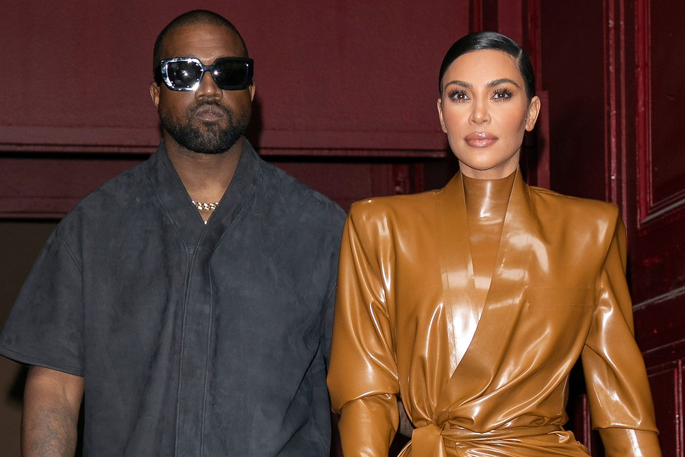 Kim West files for a divorce from Kanye West.