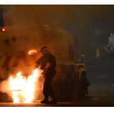 Riots in Ireland injure 27 Police Officers.