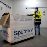 Russia's Sputnik V COVID19 vaccine arrives in Libya.