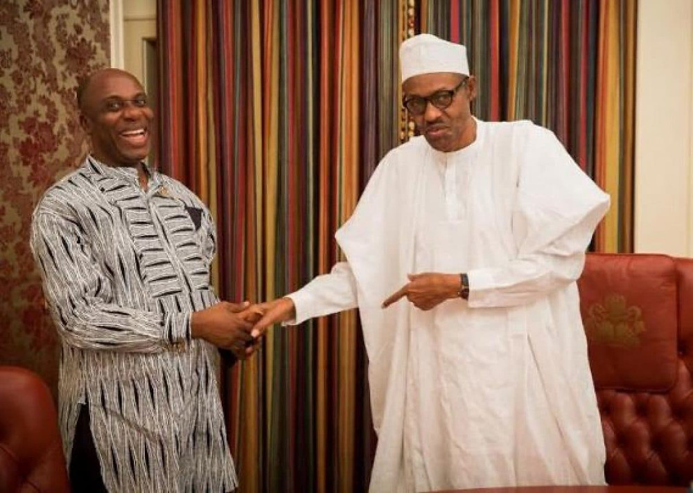 Transportation Minister and The President of Nigeria