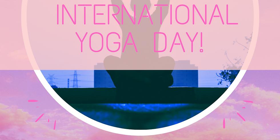 Celebrate Yoga Day!