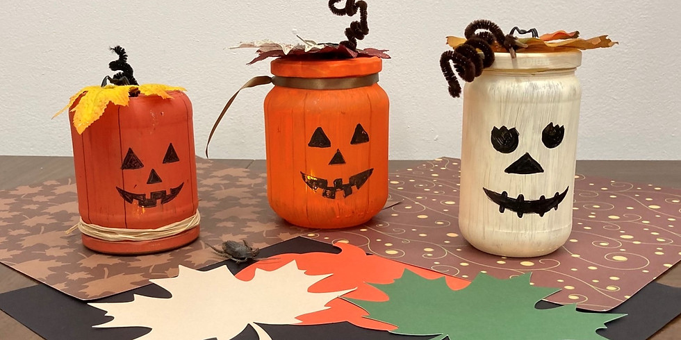 Family Crafts: Halloween Votive Lights