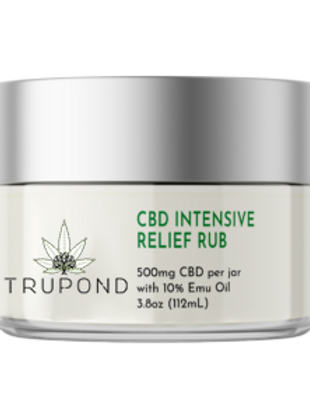 WS CBD Intensive Relief Rub with Emu