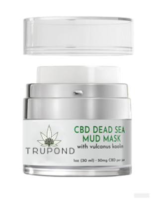 WS CBD Dead Sea Mud Mask