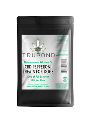 WS CBD Pepperoni Treats for Dogs