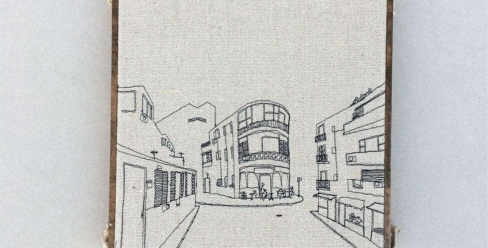 sewn sketch 28/28cm