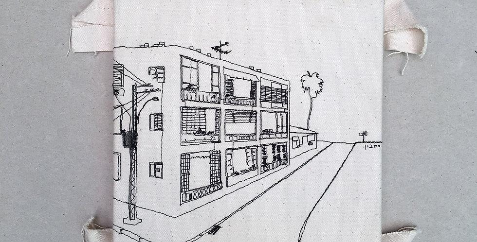 sewn sketch 22/22cm- mohaliver