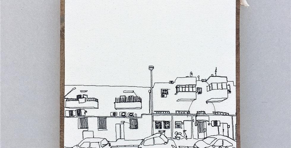 sewn sketch 30/30cm -ometz st.